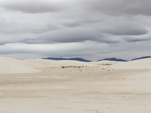 Jour 9 - White Sands National Monument, Nouveau Mexique