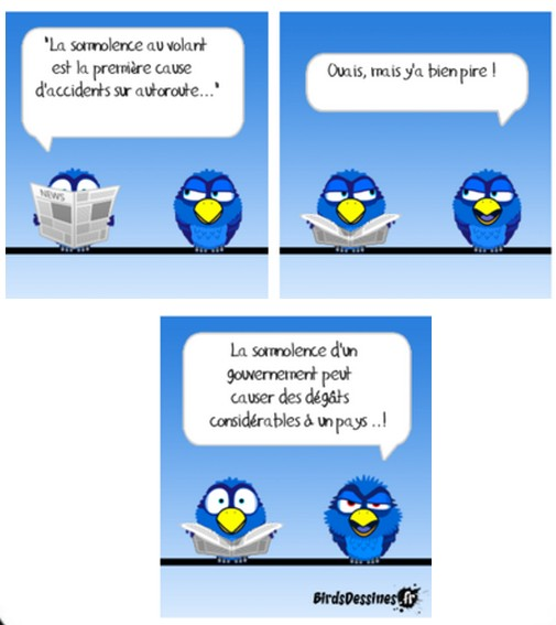 La France mal gouvernée s'encette à cause de politiciens à la recherche du pouvoir !