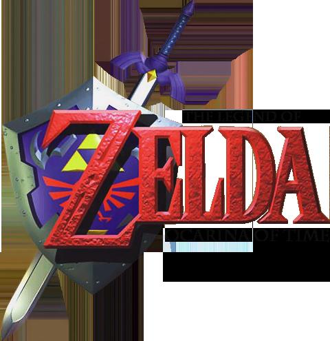 Logo de The Legend of Zelda : Ocarina of Time