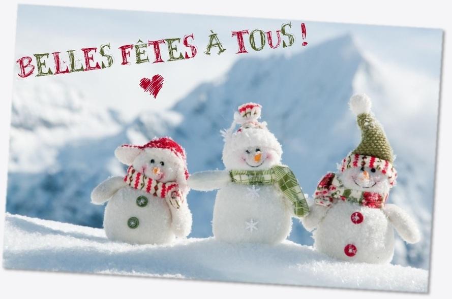 Belles fêtes à tous !