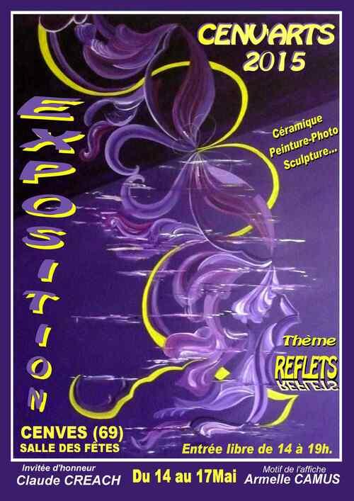 CENV'ARTS 2015: Une onzième édition sur le thème des reflets