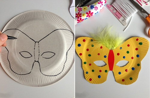 Masques papillon