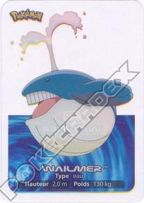 Wailmer lamincard 2005