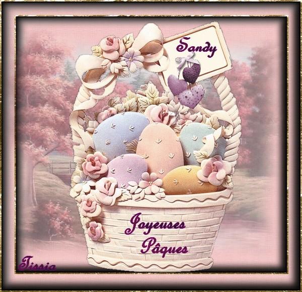 Joyeuses Pâques sandy