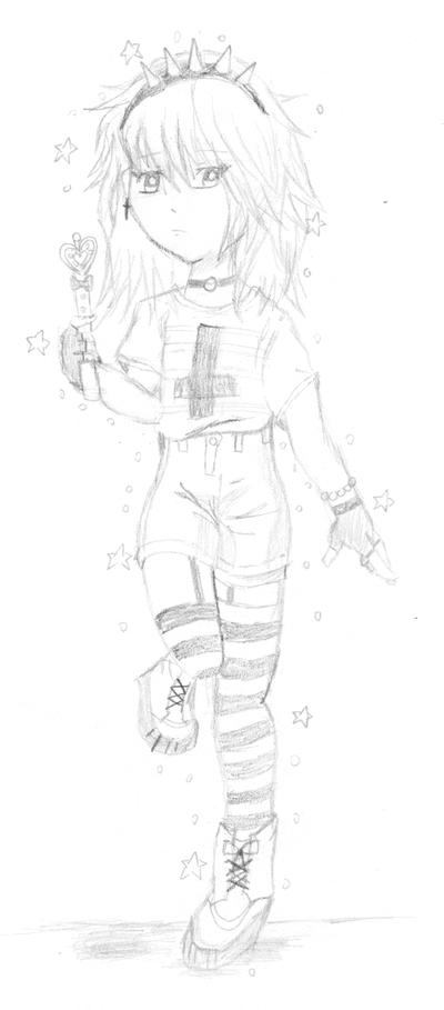 「Random girl」 Pastel Goth