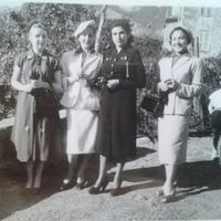 Chics !Maraine,  Marie, ? et Madeleine