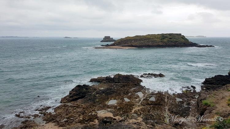 Bretagne : Saint-Malo, Île du Grand Bé