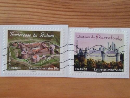 Belle série de timbres