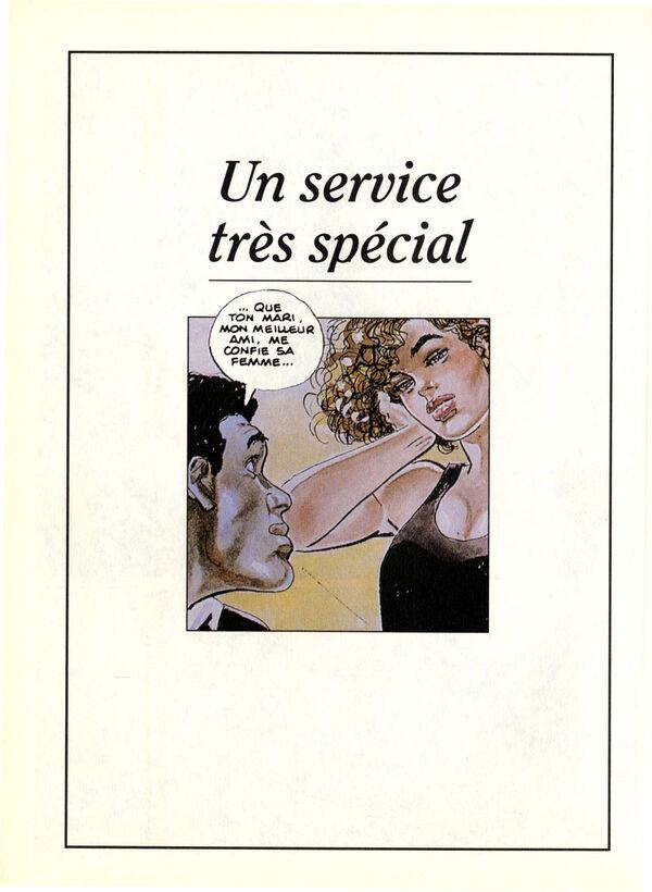 Un service très spécial