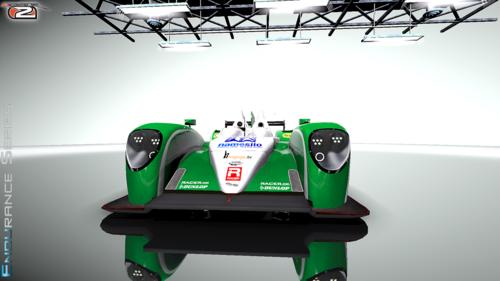 14LM Greaves Motorsport Zytek Z11SN Nissan