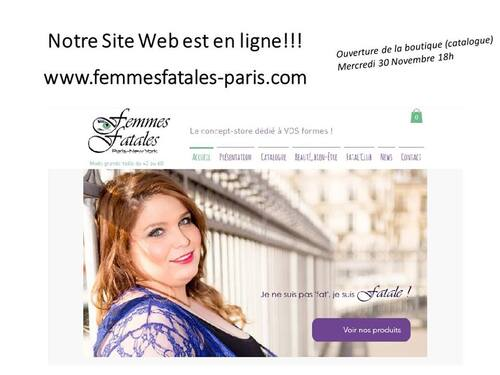 Femmes Fatales Paris New York, enfin on-line !!!!!!!!!!!!!