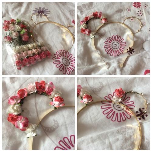 DIY : oreilles fleuris ^^