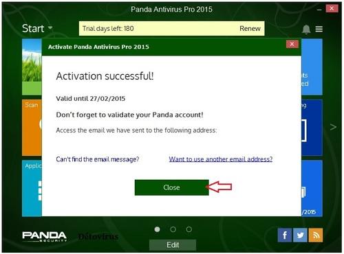 Panda Antivirus / Internet Security 2015 - Licence 6 mois gratuits