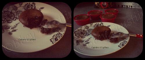 Fondant au Chocolat ^^