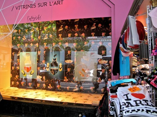 Vitrine sur l'art Galeries Lafayette 7