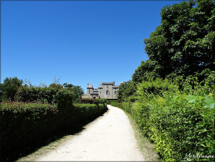 Visite du château de Vayres (photos-Gironde)
