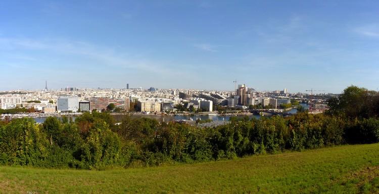 Panorama depuis la Balustrade