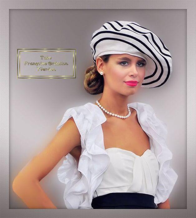 Femmes chapeaux-turbans (01 à 10)
