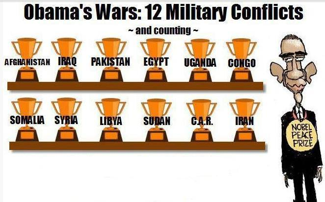 les guerres hybrides d'Obama
