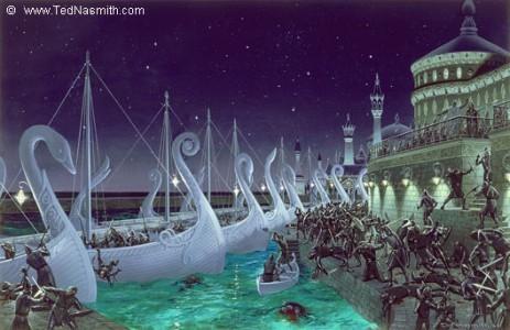 Les villes elfiques