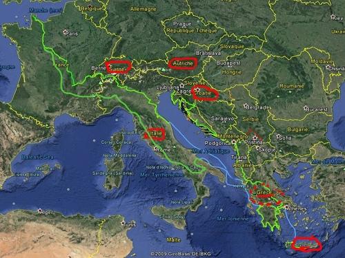 L' Italie et les Pouilles BARI