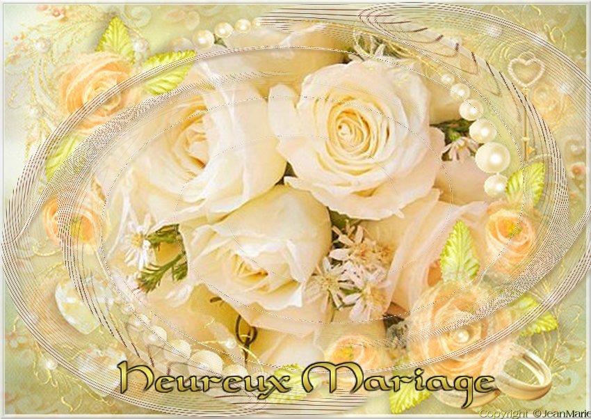 Meilleurs Vœux De Mariage Carte Gratuite Servez Vous C Est Cadeau Le Jardin De Jean Marie