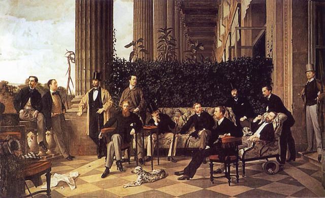 SUITE pour ces MESSIEURS 1900.