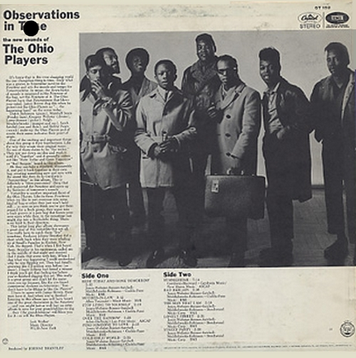 "Ohio Players : Album "" Observations In Time "" Capitol Records ST-192 [ US ]"