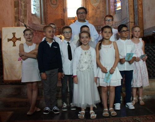 La première des communions à Huriel