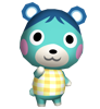 Myrtille animal crossing WII