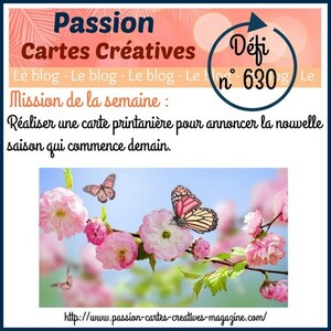 Passion Cartes Créatives#630 !