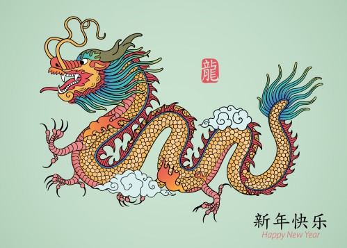 dragon chinois Défi Matiermot n°7
