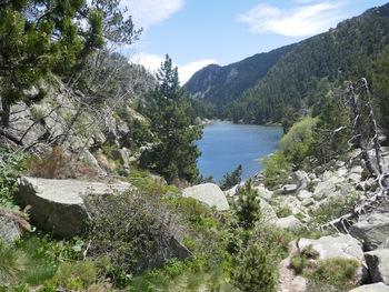 Et revoilà le lac de la Balmette