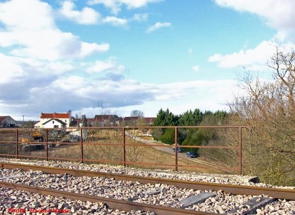 Les ponts ferroviaires à Brion sur Ource