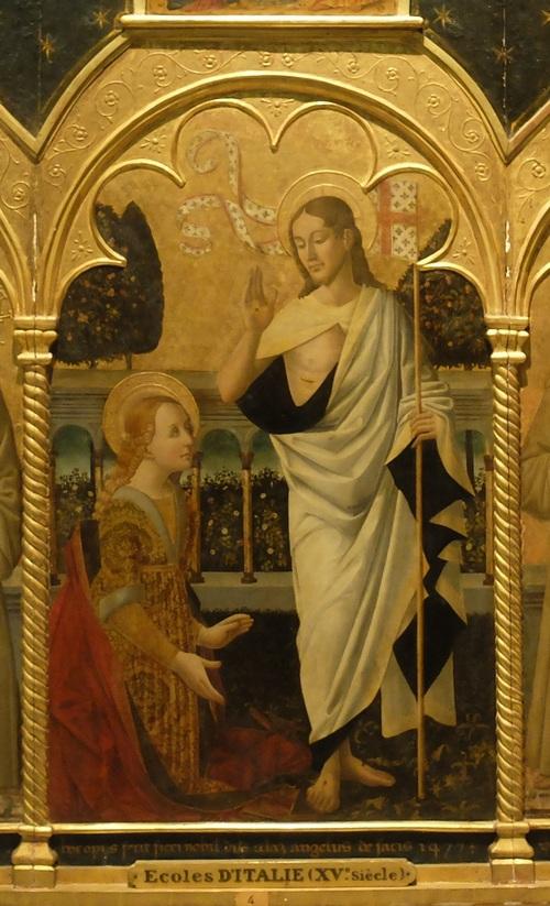 Marie Madeleine croit parler à Jésus ...