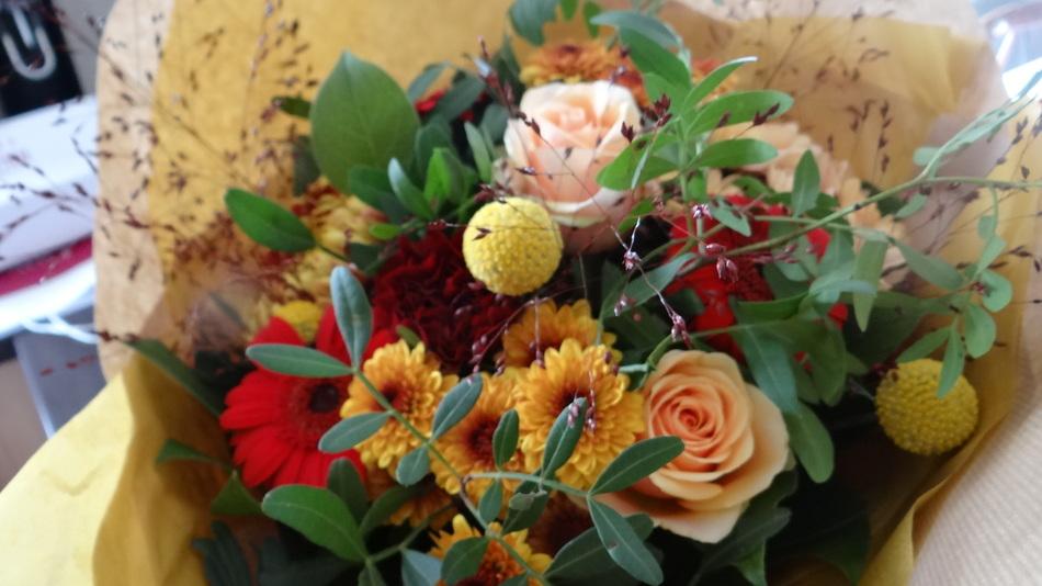 C'est Novembre ... + le bouquet du Vendredi