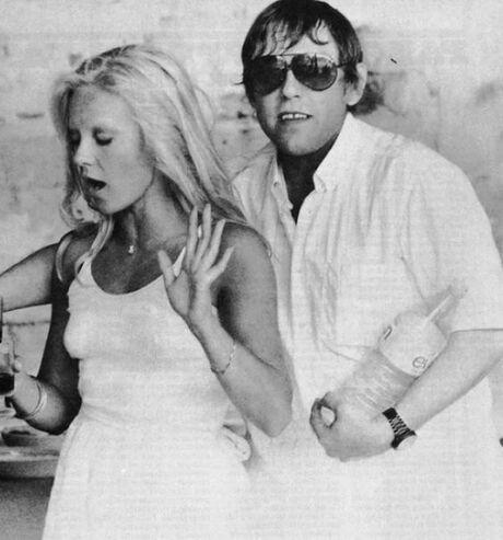 Sylvie et son frère Eddie Vartan