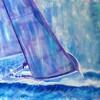 Déclinaison blanc bleu voiles