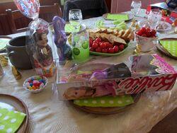 APERITIF DINATOIRE DE PAQUES : le repas