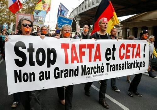 1ère circonscription du Finistère (Quimper/Briec/Fouesnant): le collectif STOP TAFTA-CETA interpelle les candidat-e-s (LT 29/05/2017)