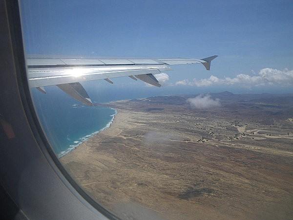 Vol Boa Vista-Paris au dessus de Espinguera