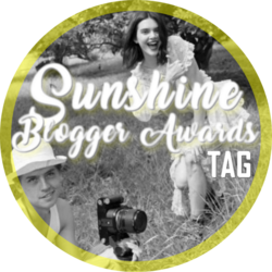 Tag | Sunshine Blogger Awards