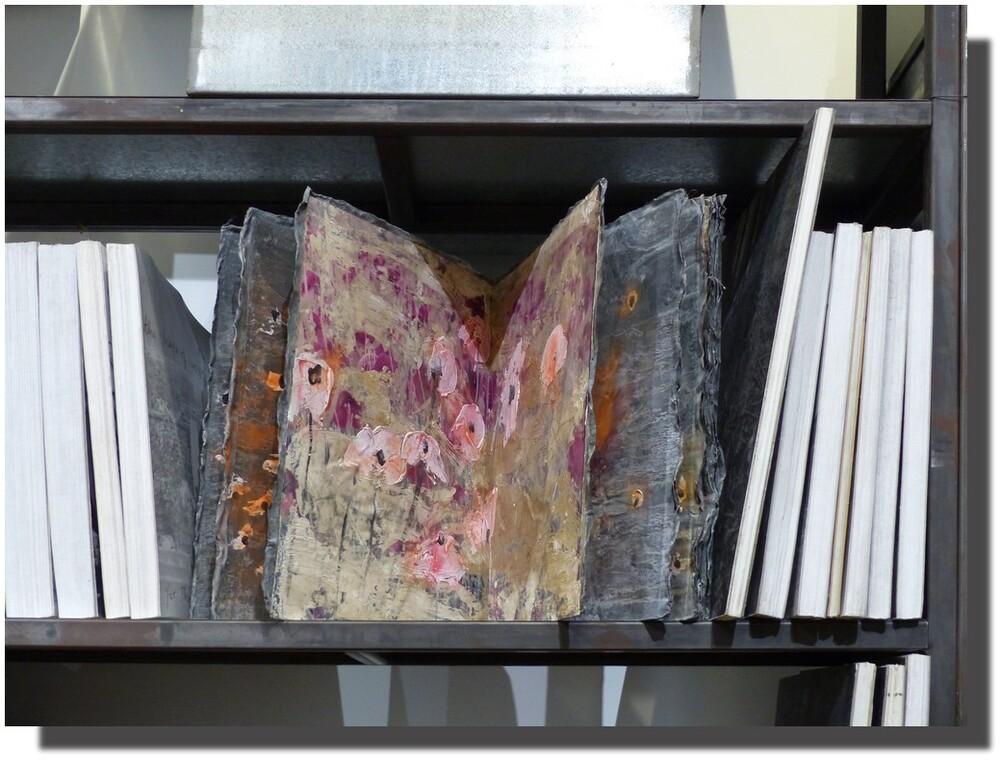 expo L'alchimie du livre, Anselm Kiefer, Paris, BNF, janvier 2016
