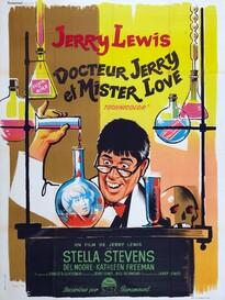 DR JERRY ET MISTER LOVE BOX OFFICE FRANCE 1963