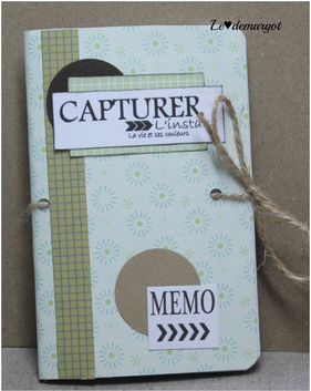 Scrap / Mes carnets customisés