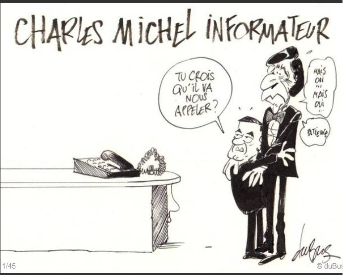 Charles Michel, informateur