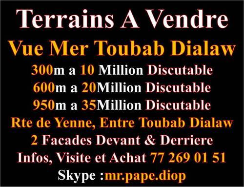 L`Immobilier Au Senegal,C`est Avec Nous +221 77 269 01 51