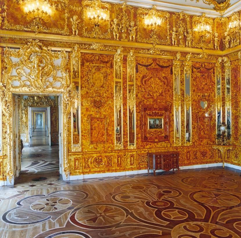 Russie la chambre d 39 ambre benissa - La chambre d ambre photos ...