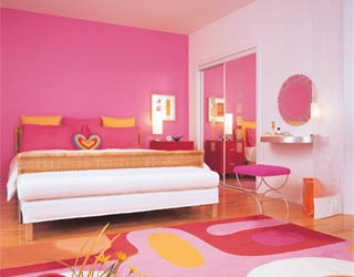 Chambre rose my world for Chambre rose pour fille