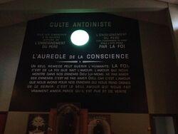 Temple antoiniste de Toulouse - intérieur (photo de Jelt Samsara)